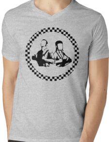 skinheads Mens V-Neck T-Shirt