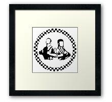 skinheads Framed Print