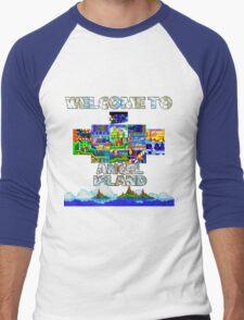Welcome to Angel Island Men's Baseball ¾ T-Shirt