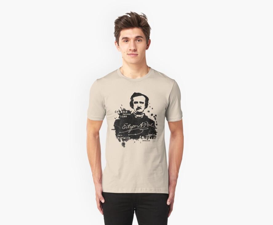 Edgar Allan Poe - Poe the Raven - The Following - Brilliant and Dark World of Poe by traciv