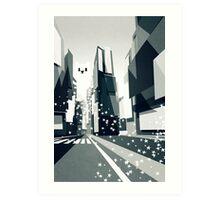 Yeti coming to town! Art Print
