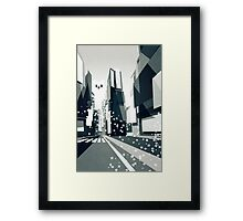Yeti coming to town! Framed Print