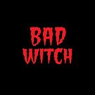 BAD WITCH with matching good witch by jazzydevil