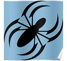 Slanted Spider Poster