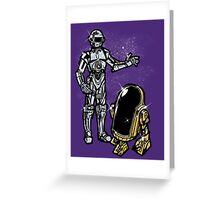 Daft Droids Greeting Card
