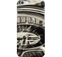How Fast and How Far iPhone Case/Skin