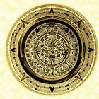 ©HS Aztec Sun Calendar I by OmarHernandez