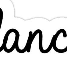 #dancer | hashtag Sticker