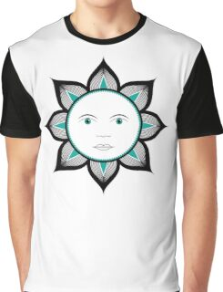 Abstract sun design Graphic T-Shirt