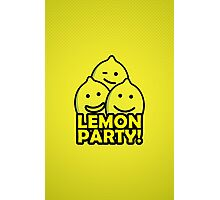 Lemon Party! Photographic Print