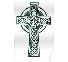 CELTIC HIGH CROSS Poster