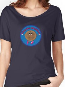 Charlie Waffles! Women's Relaxed Fit T-Shirt