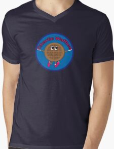 Charlie Waffles! Mens V-Neck T-Shirt