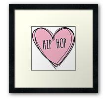 Hip hop Framed Print