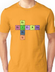 SCIENCE GIRL! - Periodic Elements Scramble Unisex T-Shirt