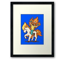 Gotta Burn 'Em All Framed Print