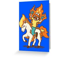 Gotta Burn 'Em All Greeting Card