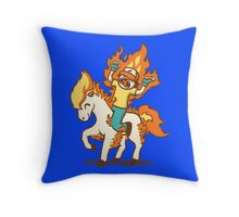 Gotta Burn 'Em All Throw Pillow