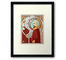 Tenzin Nouveau Framed Print