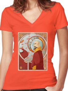 Tenzin Nouveau Women's Fitted V-Neck T-Shirt