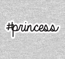 #princess | hashtag Kids Tee