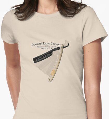 occam's razor Womens Fitted T-Shirt