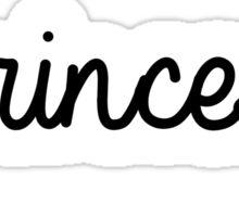#princess | hashtag Sticker