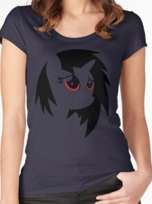 My Little Pony: Vinyl Scratch Women's Fitted Scoop T-Shirt