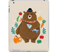 Bear - Simple happiness iPad Case/Skin