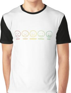 Colored funny faces Graphic T-Shirt