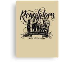 Regulators - Young Guns Canvas Print