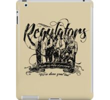 Regulators - Young Guns iPad Case/Skin