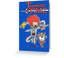 Thunder Time Greeting Card