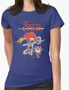 Thunder Time Womens Fitted T-Shirt