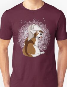Doggy Bath - Scrub a dub dog Unisex T-Shirt