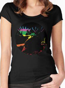 Elk Women's Fitted Scoop T-Shirt