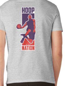 Hoop Nation Mens V-Neck T-Shirt