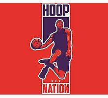 Hoop Nation Photographic Print