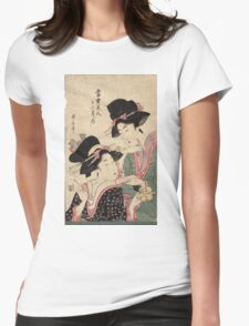 Fumizuki - July - Eizan Kikukawa - 1804 Womens Fitted T-Shirt