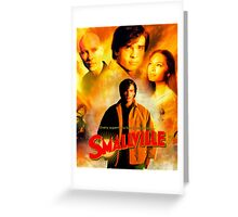 Smallville Season 1 Best Cover Greeting Card