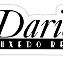 Darien's Tuxedo Rentals Sticker