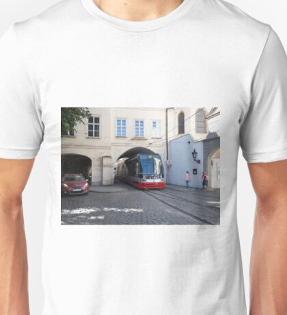 Trams in Prague Unisex T-Shirt