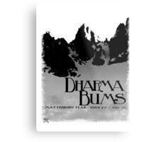 dharma bums - matterhorn peak Metal Print