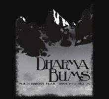 dharma bums - matterhorn peak One Piece - Short Sleeve