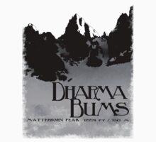 dharma bums - matterhorn peak Kids Tee