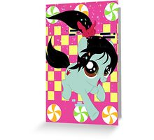 Pony Vanellope Greeting Card