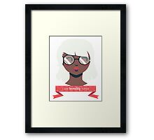 Caffeine Required  Framed Print