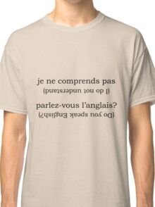 Point & Go Language Traveller Tee - French Classic T-Shirt