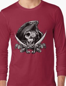 Never Say Die - One Eyed Willie Long Sleeve T-Shirt