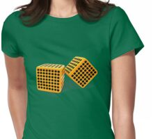 loaded dice  Womens Fitted T-Shirt